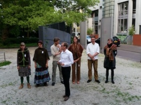 Withlof speelt Weerwolven van Wakkerdam tijdens Delft Fringe 2014
